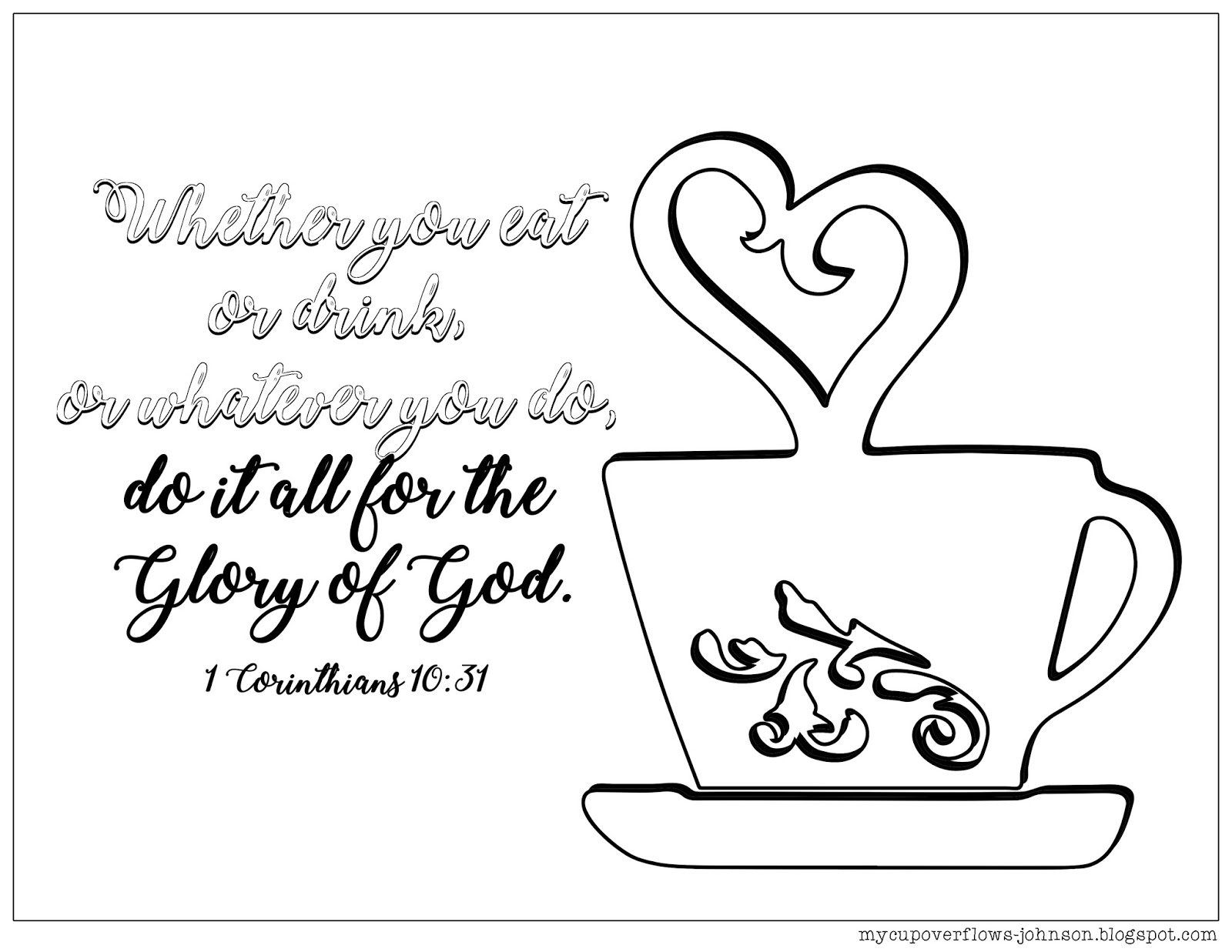 coffee cup coloring pages my cup overflows tea and coffee pages coloring coffee cup