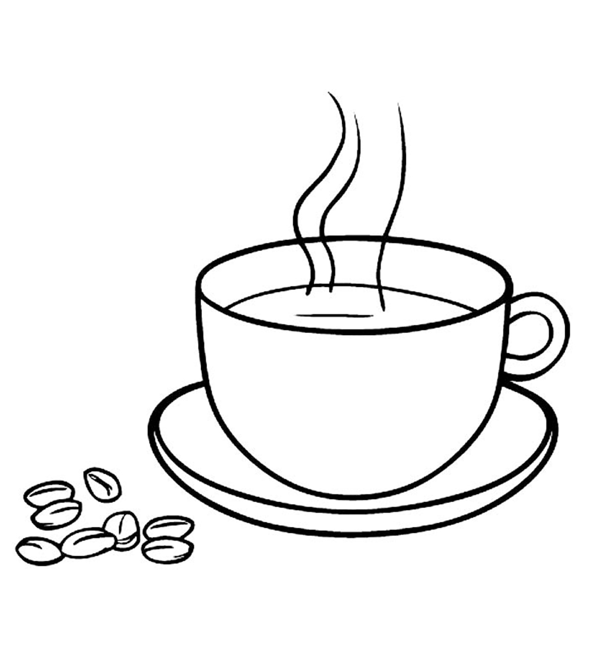 coffee cup coloring pages snacks coloring pages momjunction coffee cup pages coloring