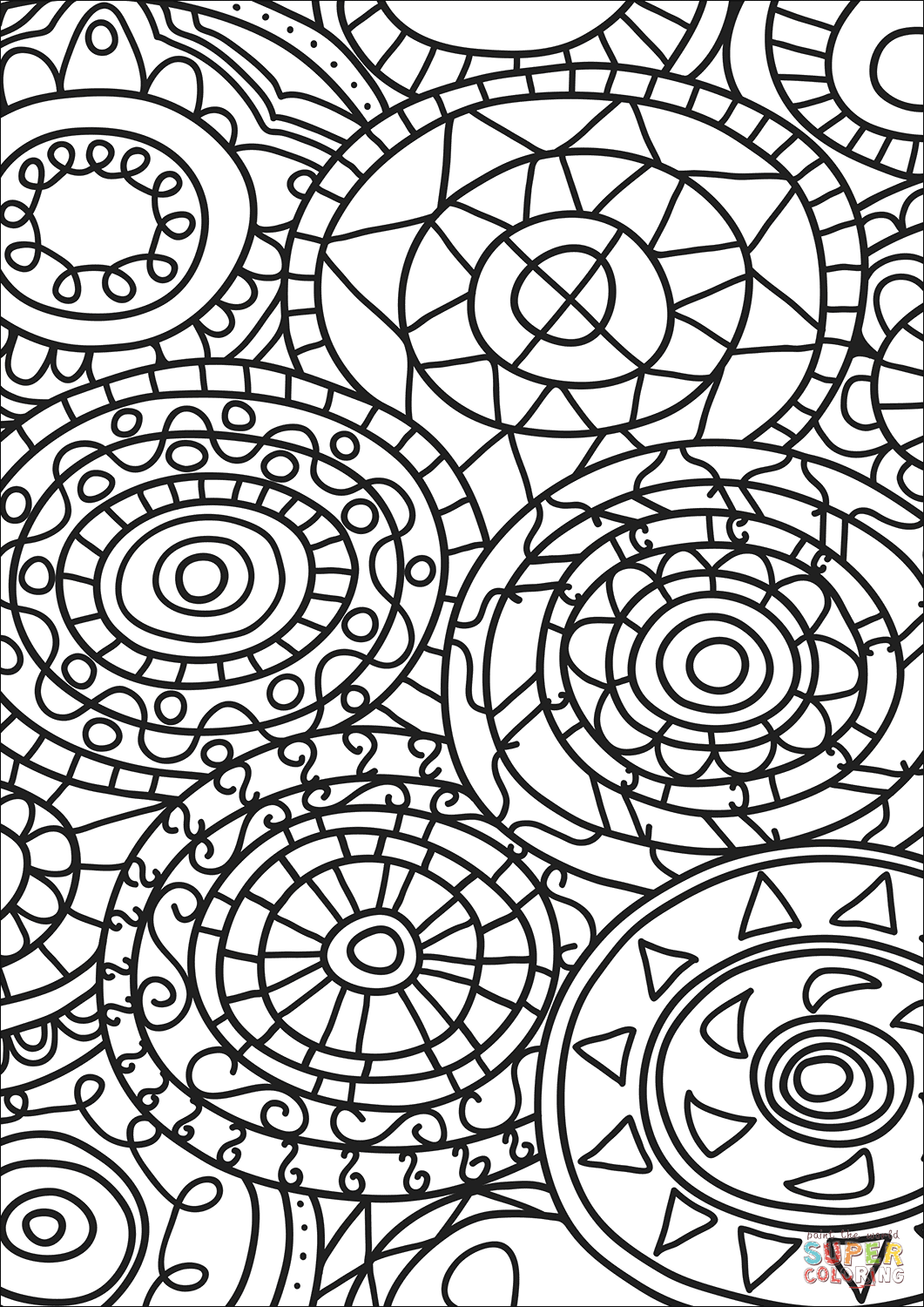 coloring art pages abstract doodle coloring page free printable coloring pages pages art coloring