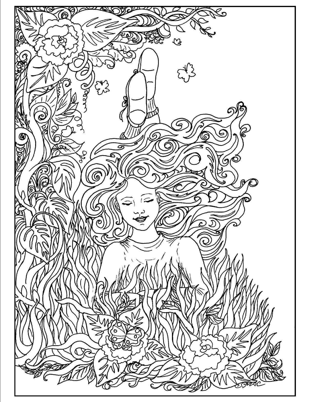 coloring art pages art therapy coloring pages to download and print for free pages coloring art 1 1
