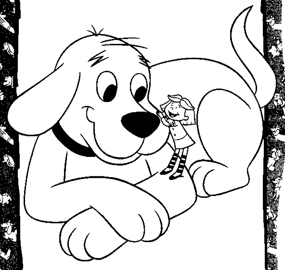 coloring clifford small dog clifford the big red dog coloring page clifford coloring