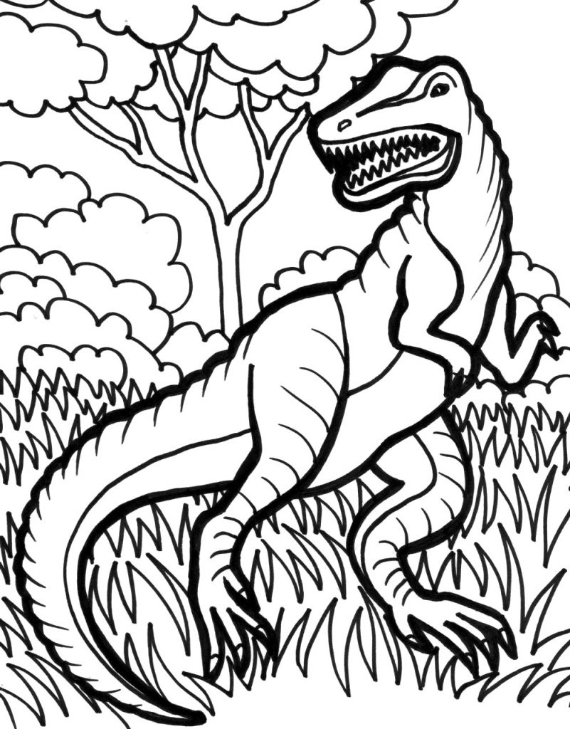 coloring dinosaurs t rex dinosaur coloring pages for kids dinosaurs t coloring rex