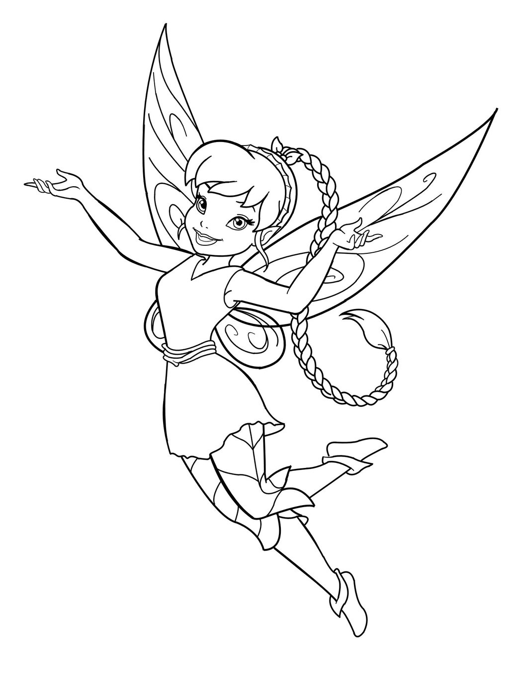coloring fairy pages disney fairy coloring pages pages coloring fairy