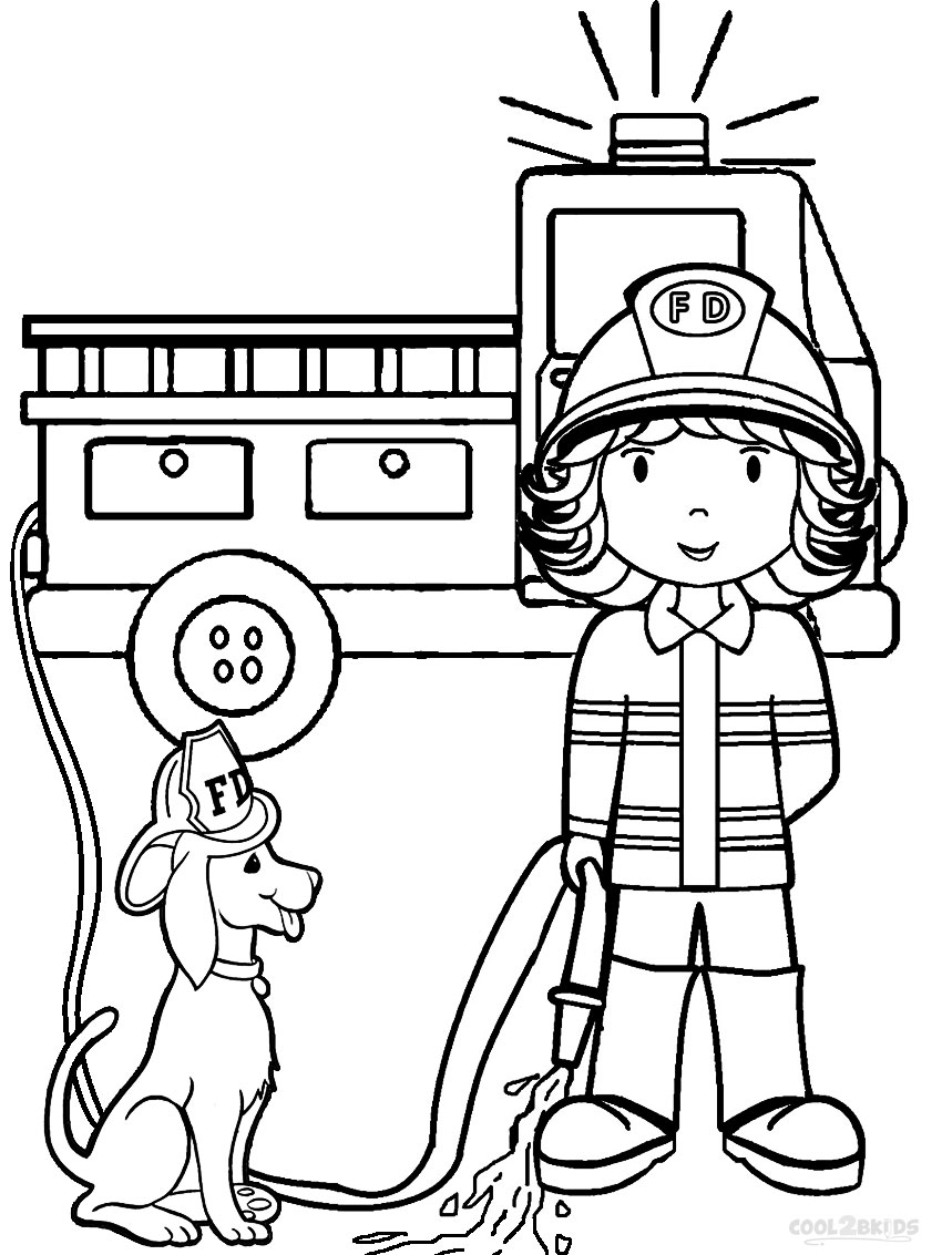coloring fireman free printable fireman coloring pages cool2bkids coloring fireman