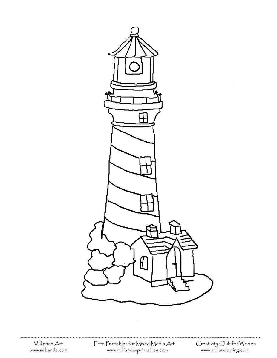 coloring lighthouse drawing easy how to draw a lighthouse easy step by step buildings coloring drawing lighthouse easy