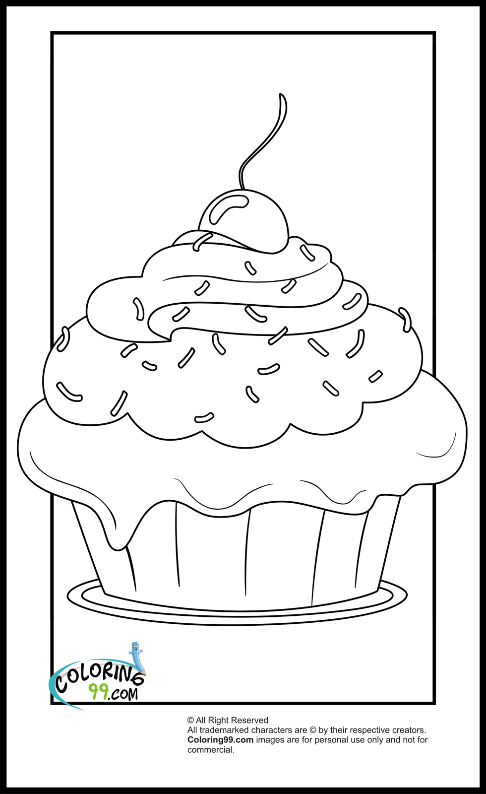 coloring page cupcake cupcake coloring pages team colors page coloring cupcake