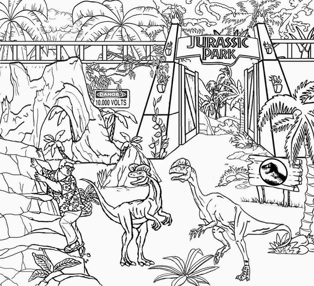 coloring page jurassic world free printable jurassic world coloring pages world page jurassic coloring