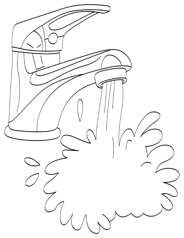coloring page water i39m praying a new prayer rivers of living water page coloring water