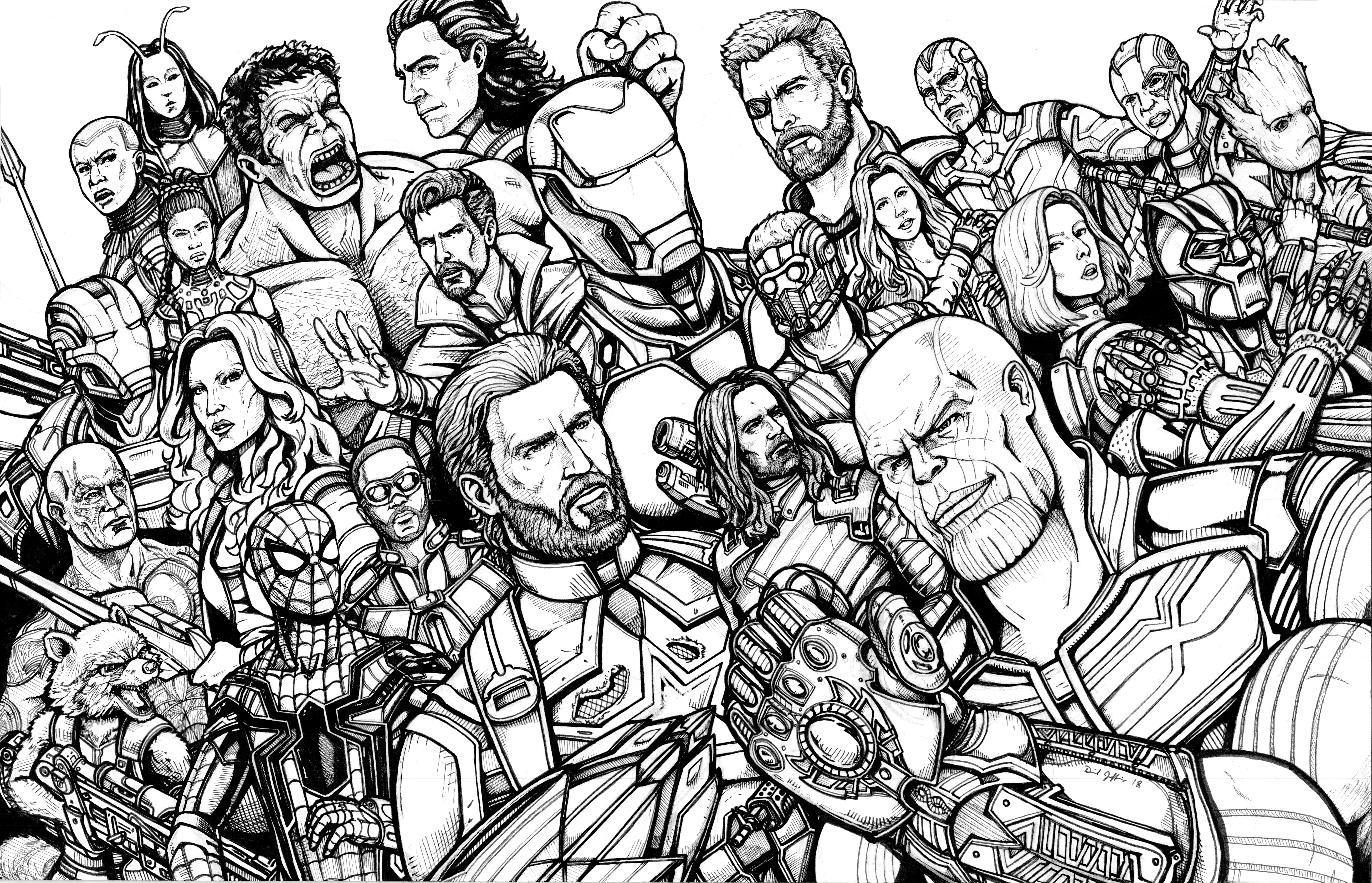 coloring pages avengers infinity war avengers infinity war coloring pages thor drawing free infinity coloring avengers pages war