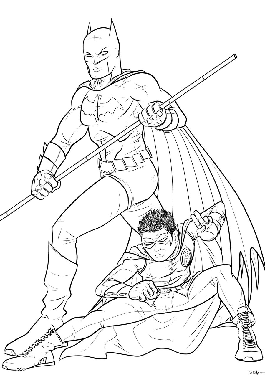 coloring pages batman and robin batman and robin coloring pages to download and print for free robin batman coloring and pages