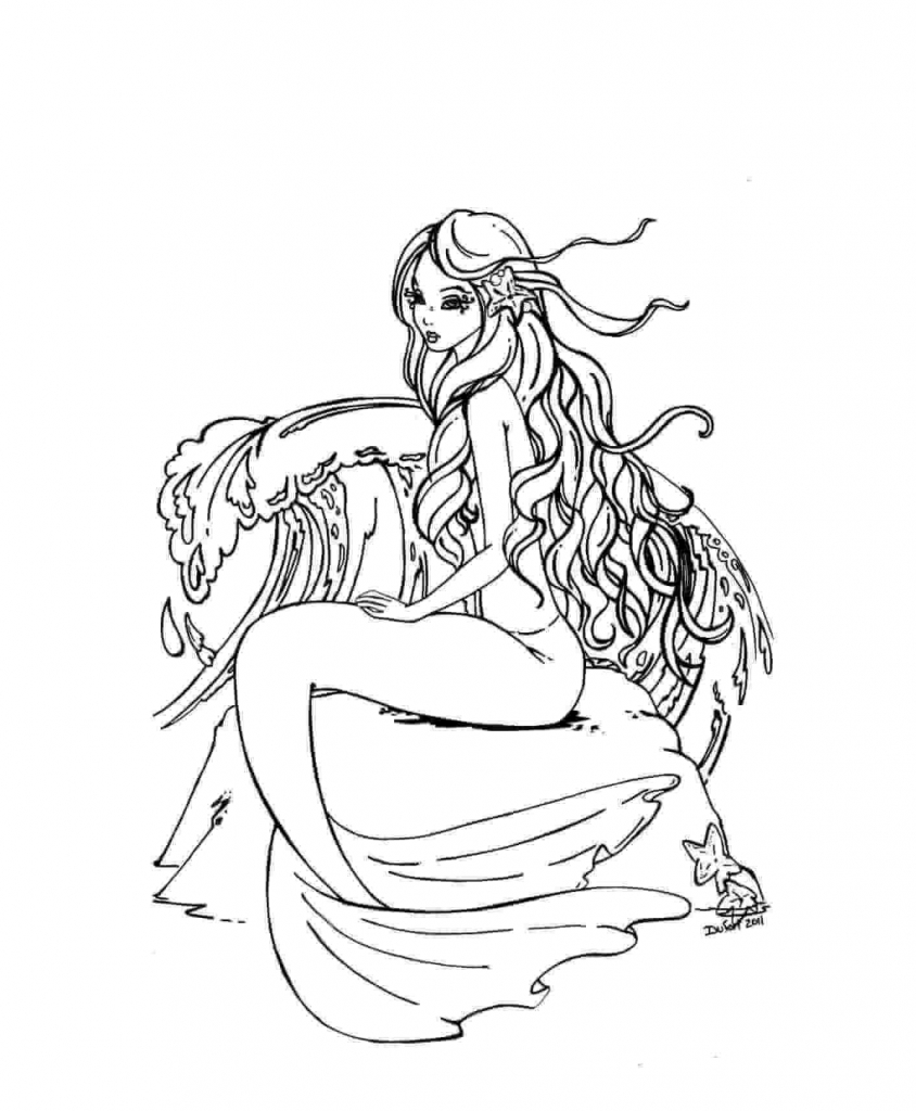 coloring pages mermaid print download  find the suitable little mermaid pages mermaid coloring