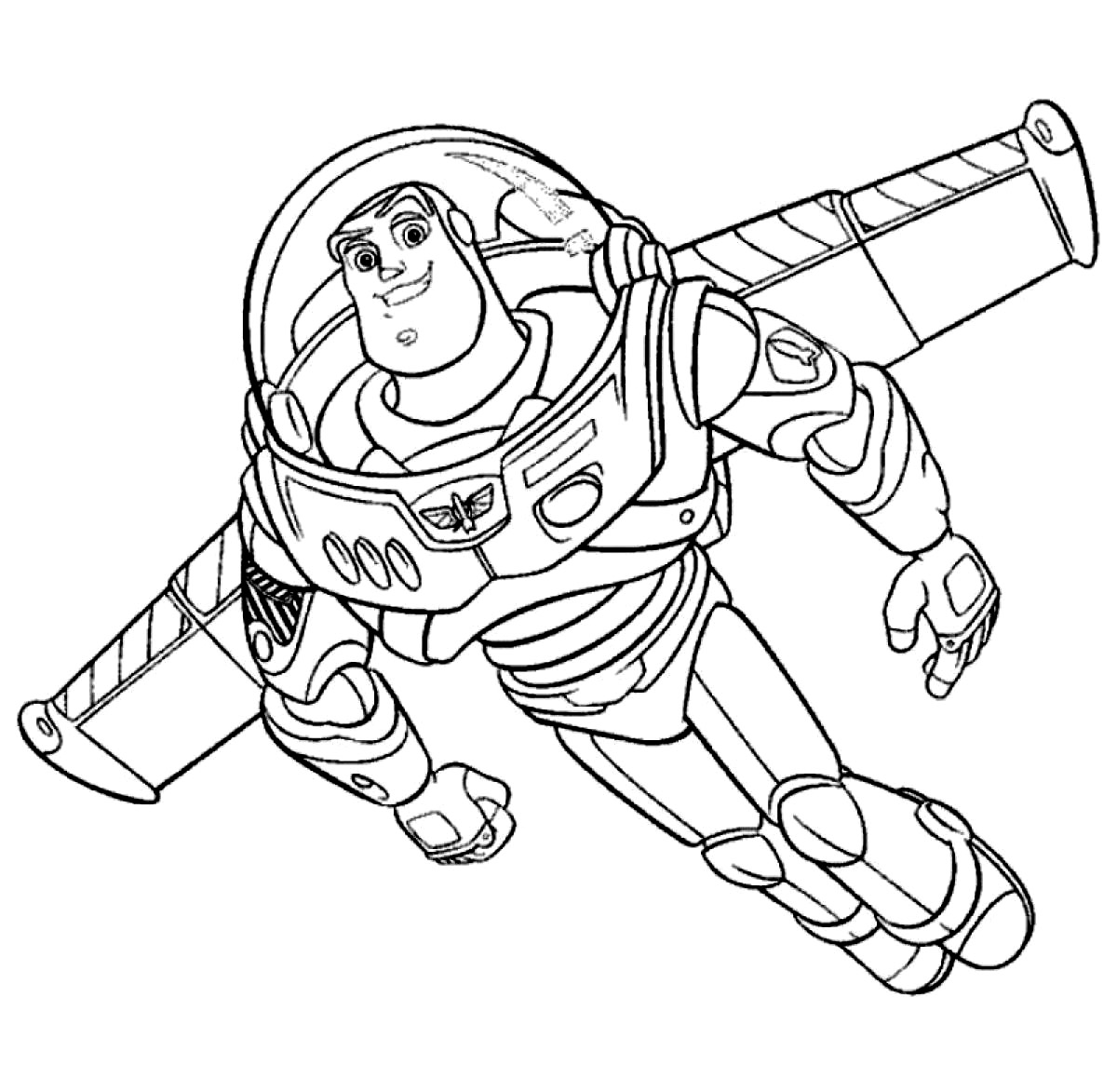 coloring pages of buzz lightyear free printable buzz lightyear coloring pages for kids pages lightyear of buzz coloring