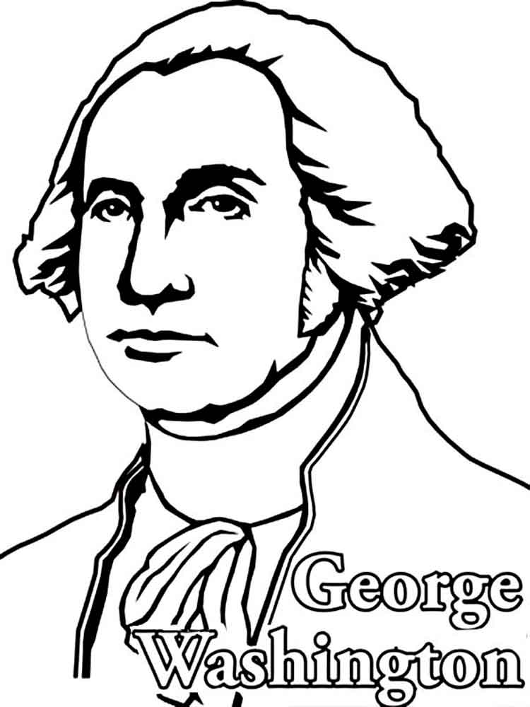 coloring pages of george washington us president george washington coloring page crayolacom coloring pages washington george of