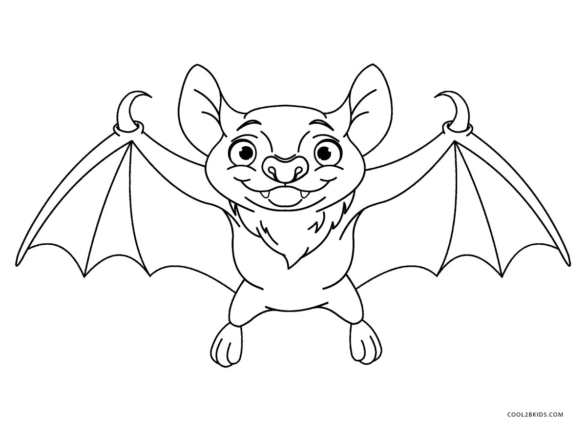 coloring picture bat free printable bat coloring pages for kids coloring bat picture