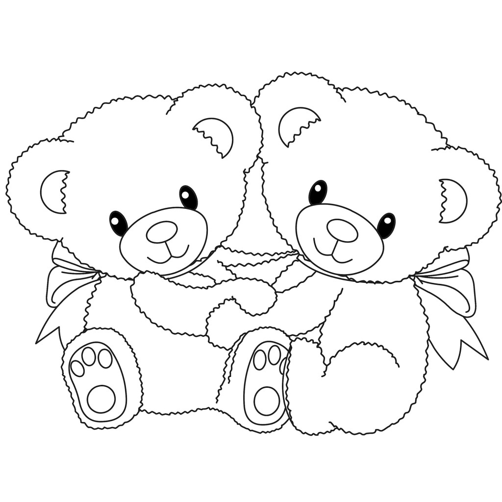 coloring picture bear scribbles and doodles free stuff coloring picture bear