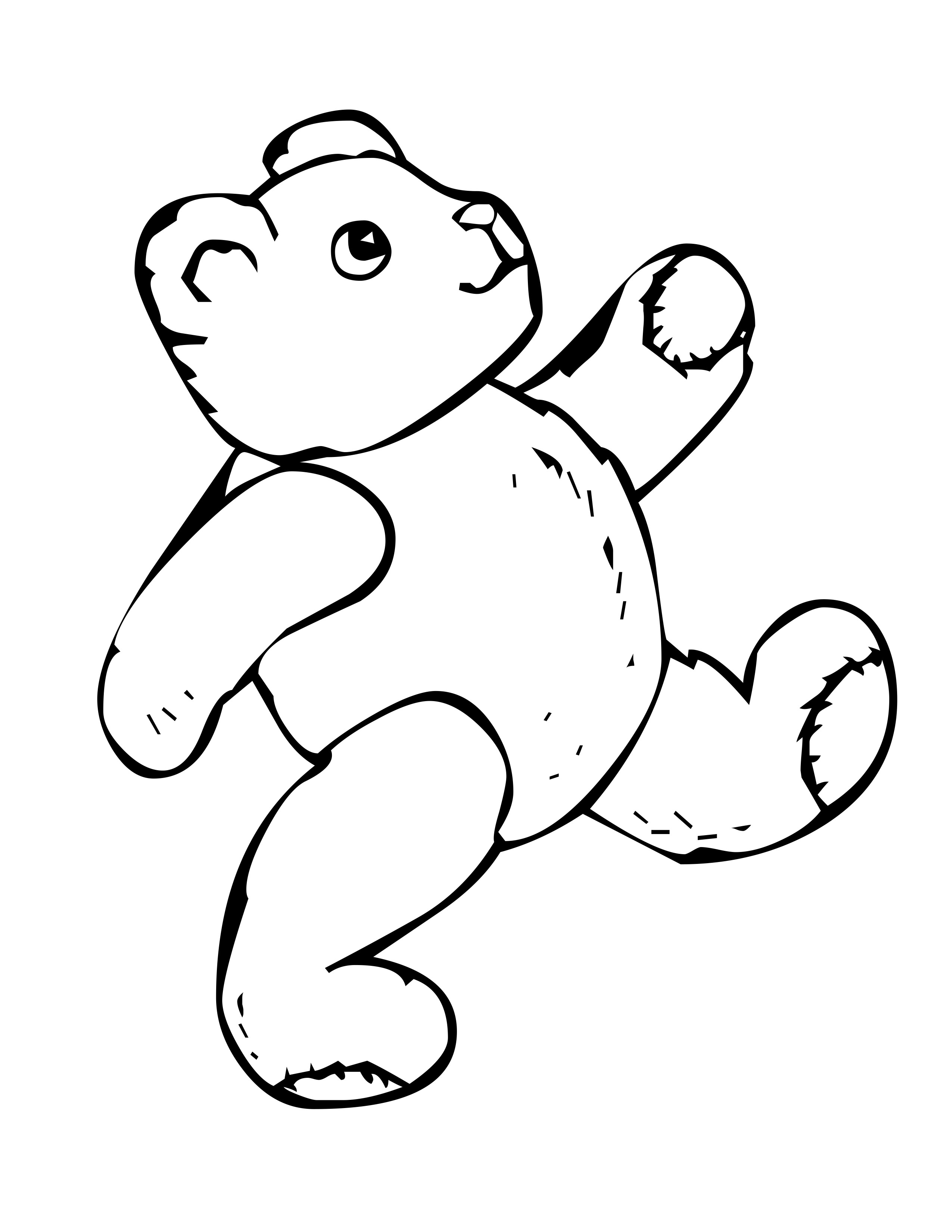 coloring picture of a bear free printable bear coloring pages for kids bear picture coloring of a