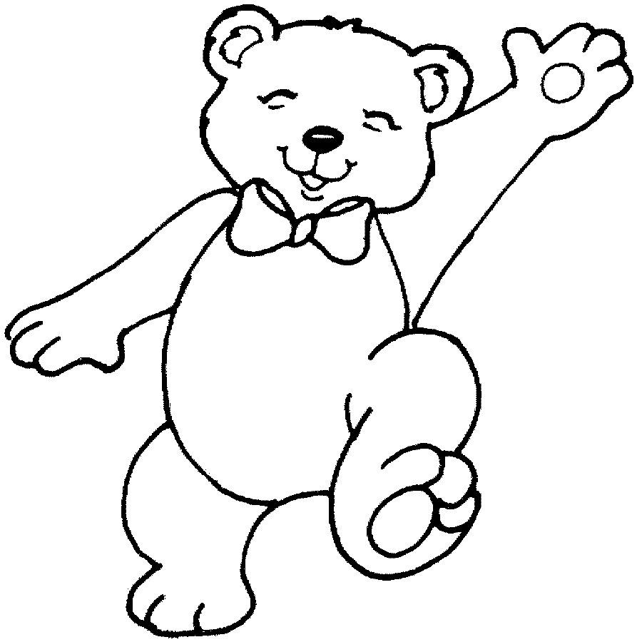 coloring picture of a bear printable teddy bear coloring pages for kids picture bear a of coloring