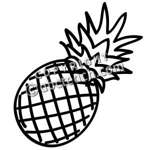 coloring pineapple clipart black and white clipart panda free clipart images and white clipart coloring pineapple black