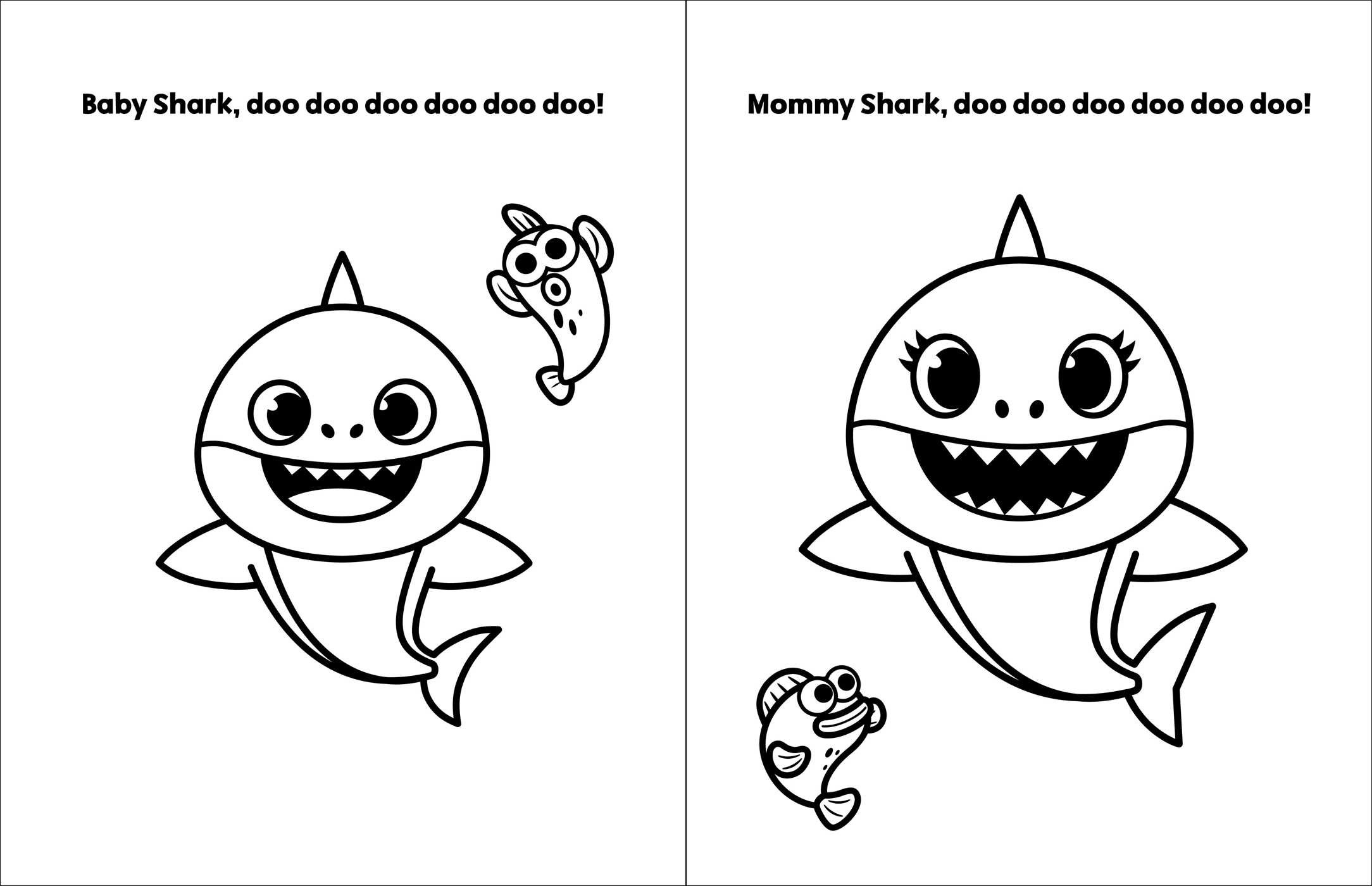coloring pink fong pinkfong baby shark my first big book of coloring book pink coloring fong