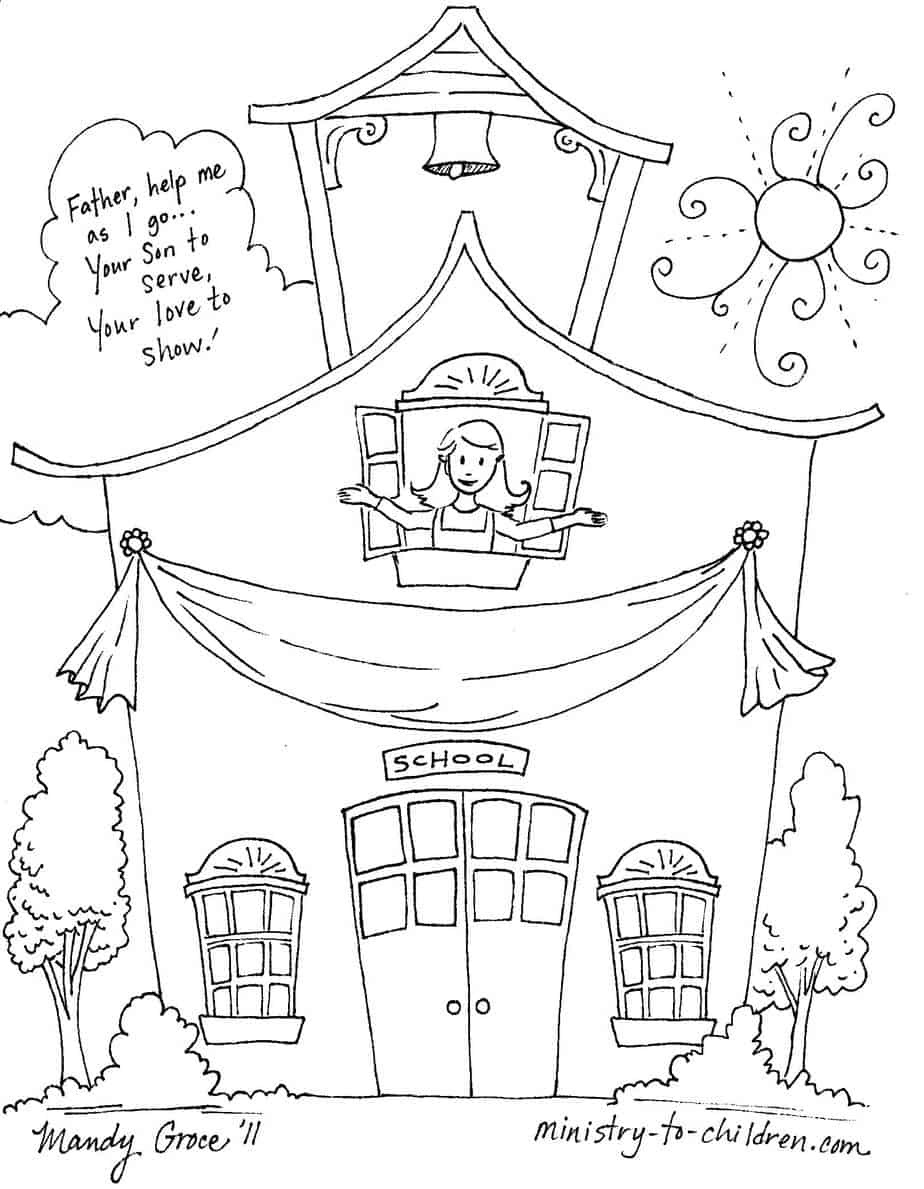 coloring school for kids back to school coloring pages fun school themed school for coloring kids