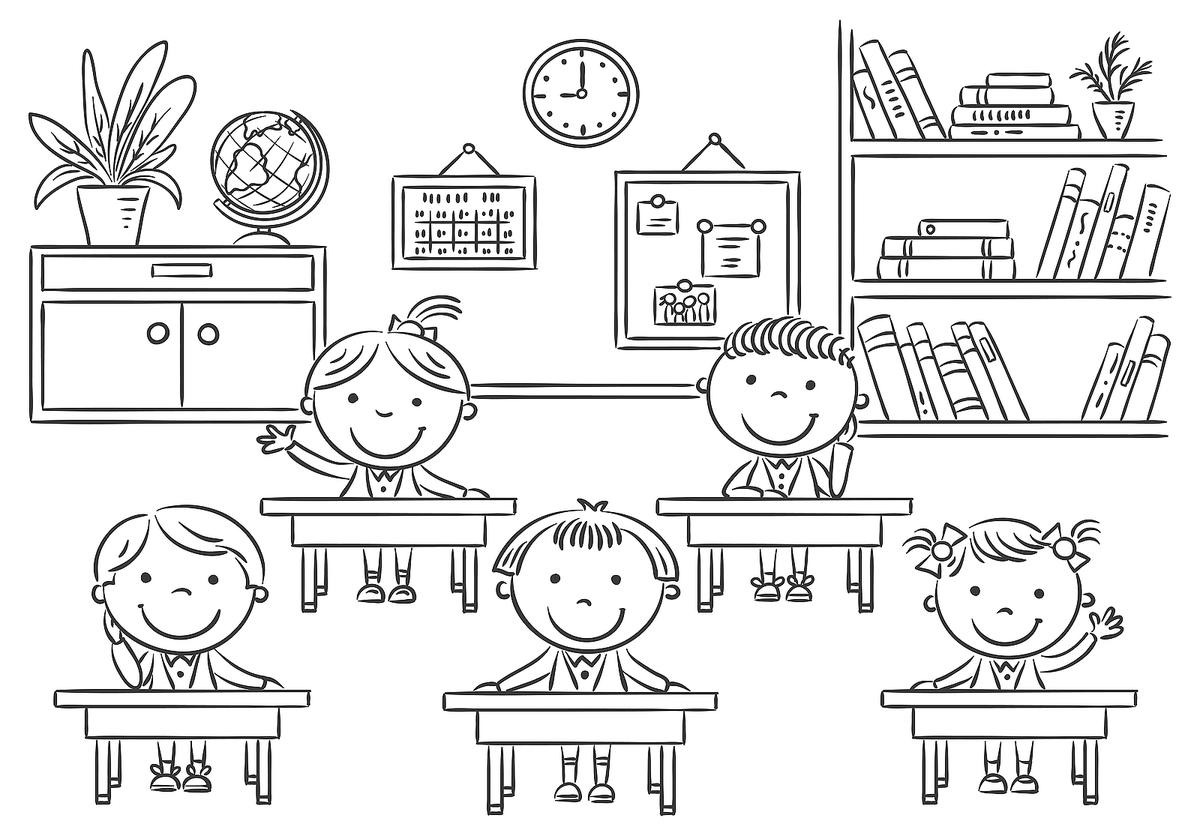 coloring school for kids coloring pages for elementary school students at for coloring kids school