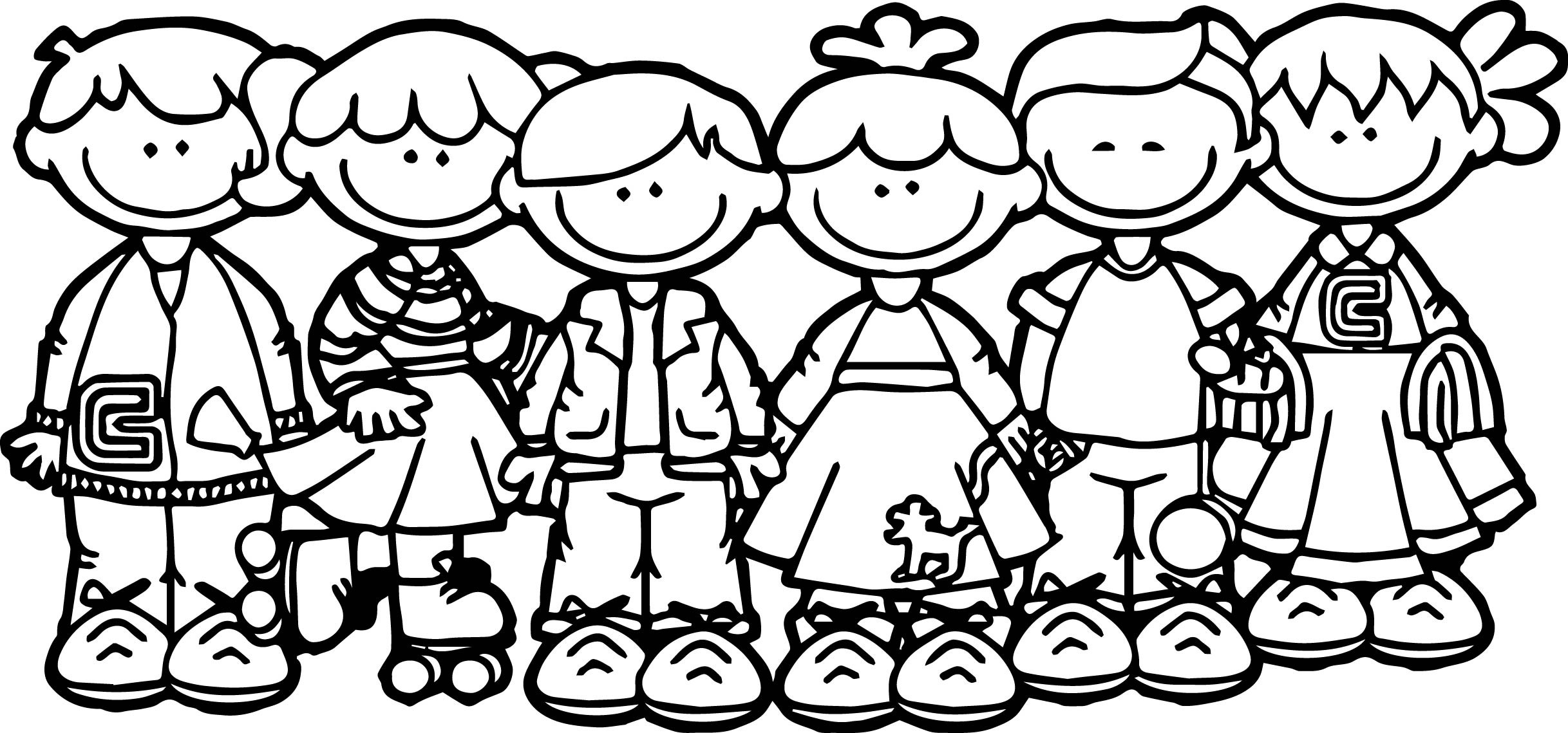 coloring school for kids kids going to school kids coloring page wecoloringpagecom kids coloring school for