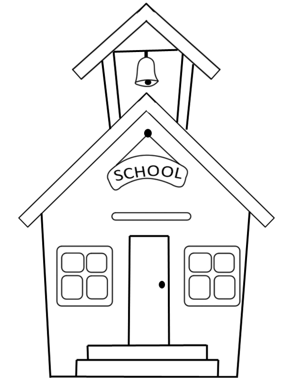 coloring school for kids school kids coloring pages at getdrawings free download coloring kids school for