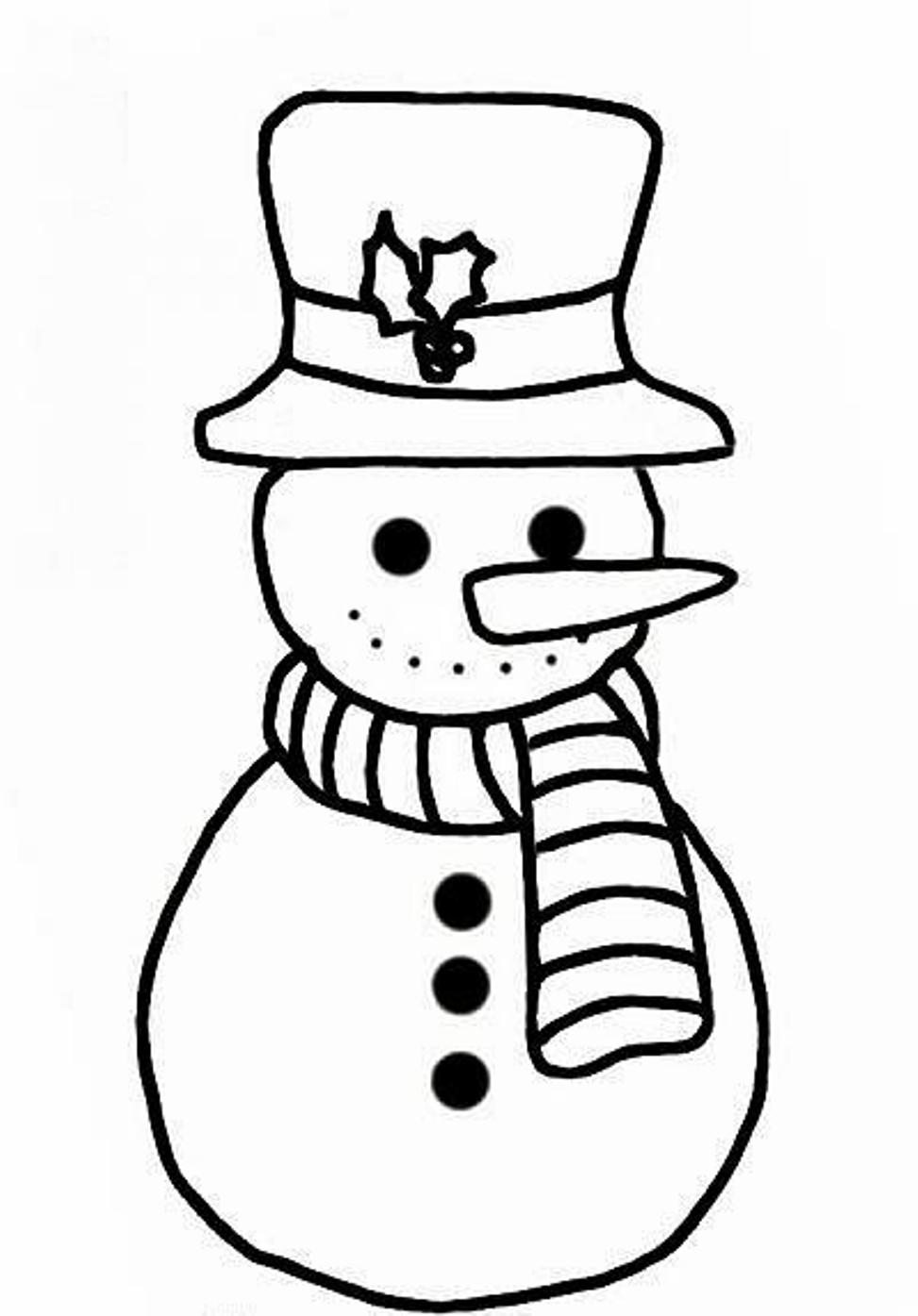 coloring snowman free printable snowman coloring pages for kids snowman coloring