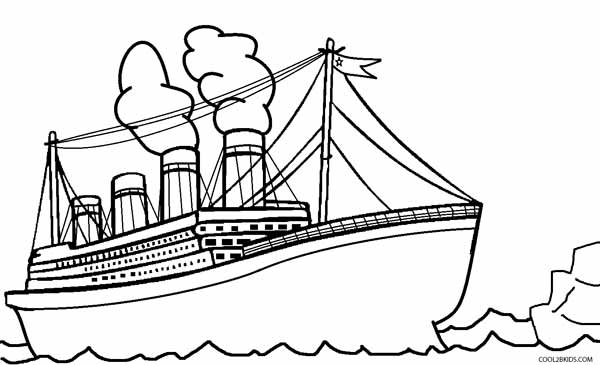 coloring titanic printable titanic coloring pages for kids cool2bkids titanic coloring