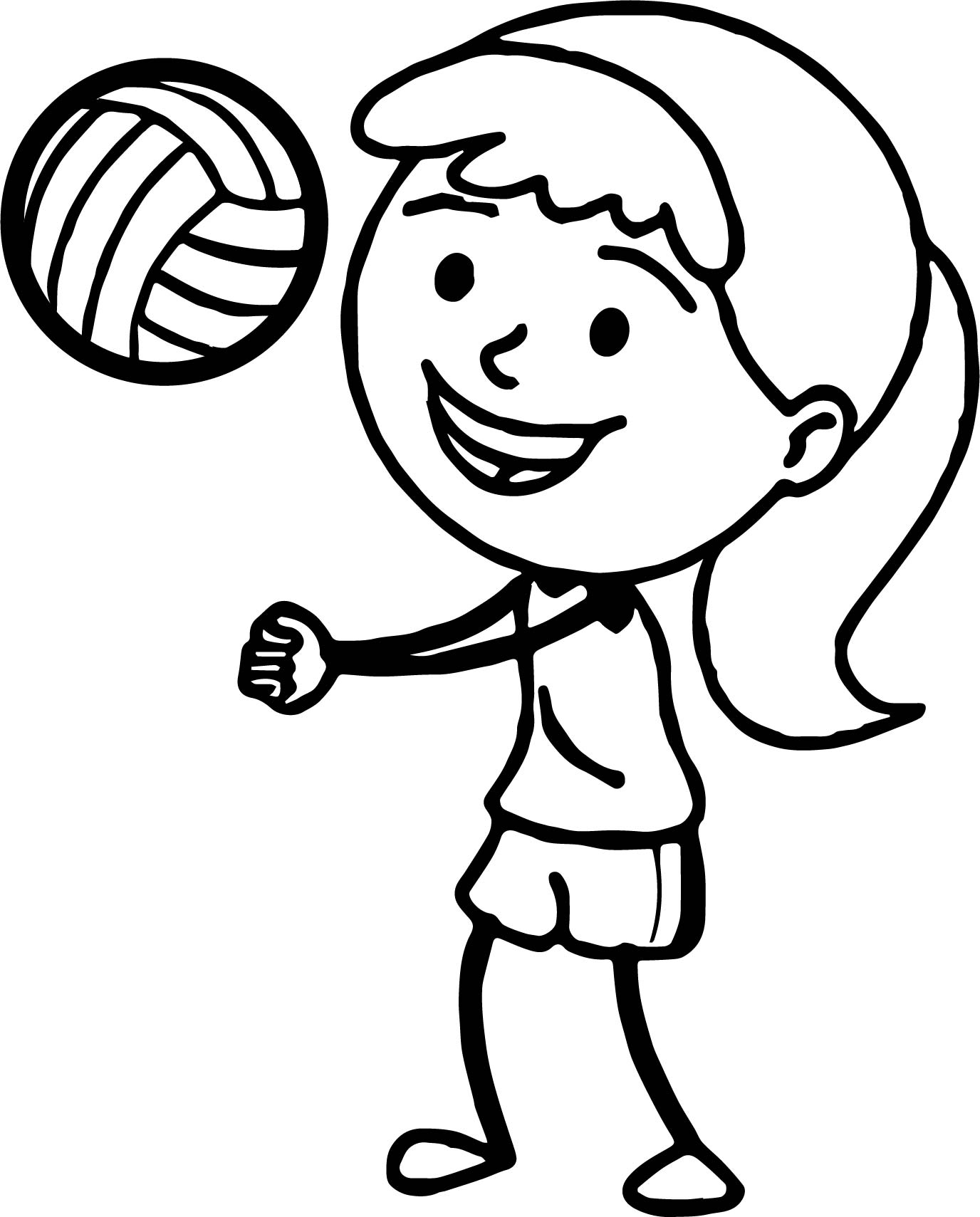 coloring volleyball volleyball ball up coloring page wecoloringpagecom coloring volleyball