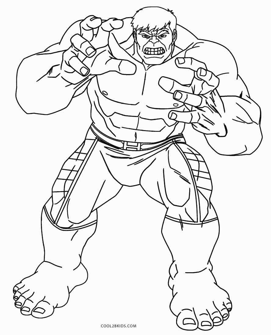 colouring hulk free printable hulk coloring pages for kids cool2bkids colouring hulk