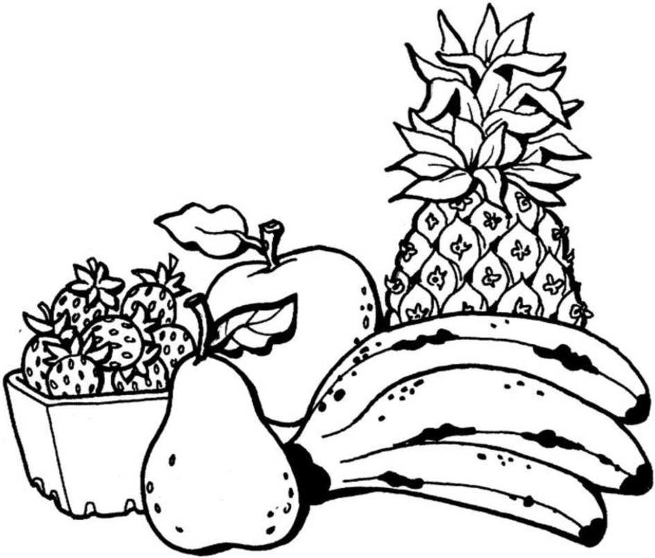 colouring images of fruits coloring town colouring images fruits of