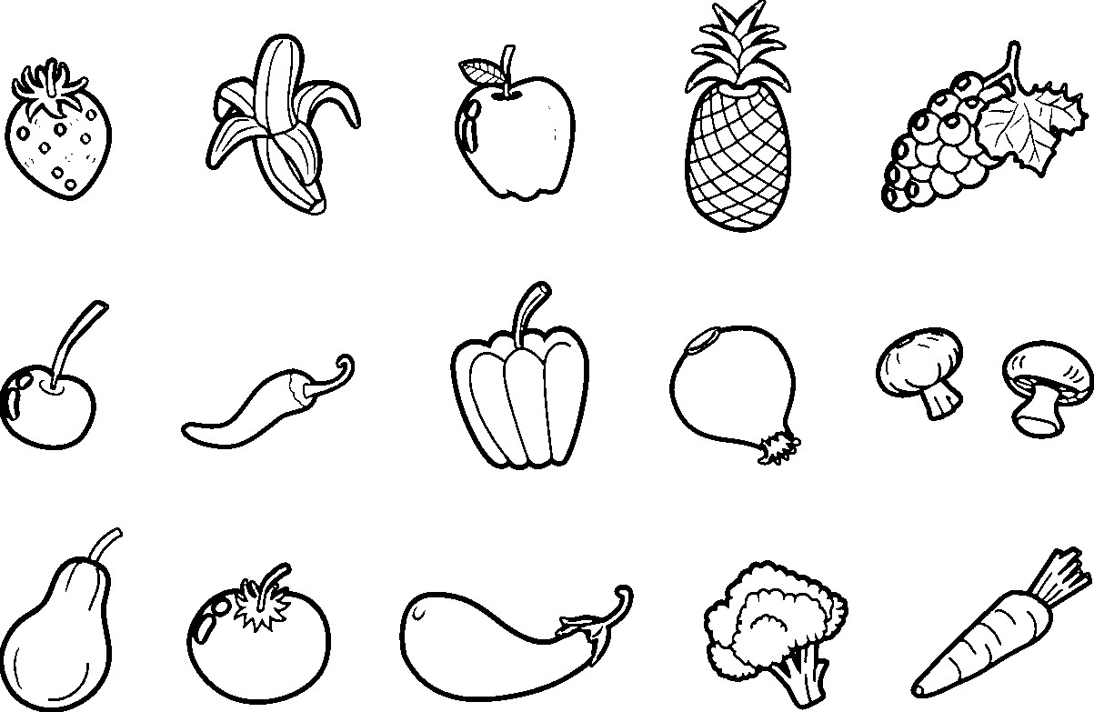 colouring images of fruits free coloring pages of vegetable gardens fruits colouring images of
