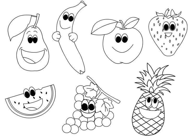colouring images of fruits free printable fruit coloring pages for kids of images fruits colouring 1 1