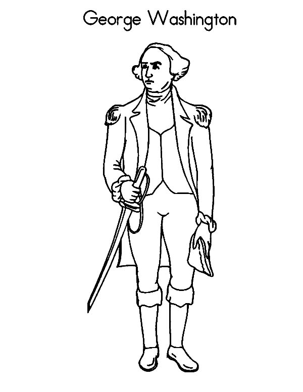 continental army coloring page george washington coloring book dover publications continental coloring army page