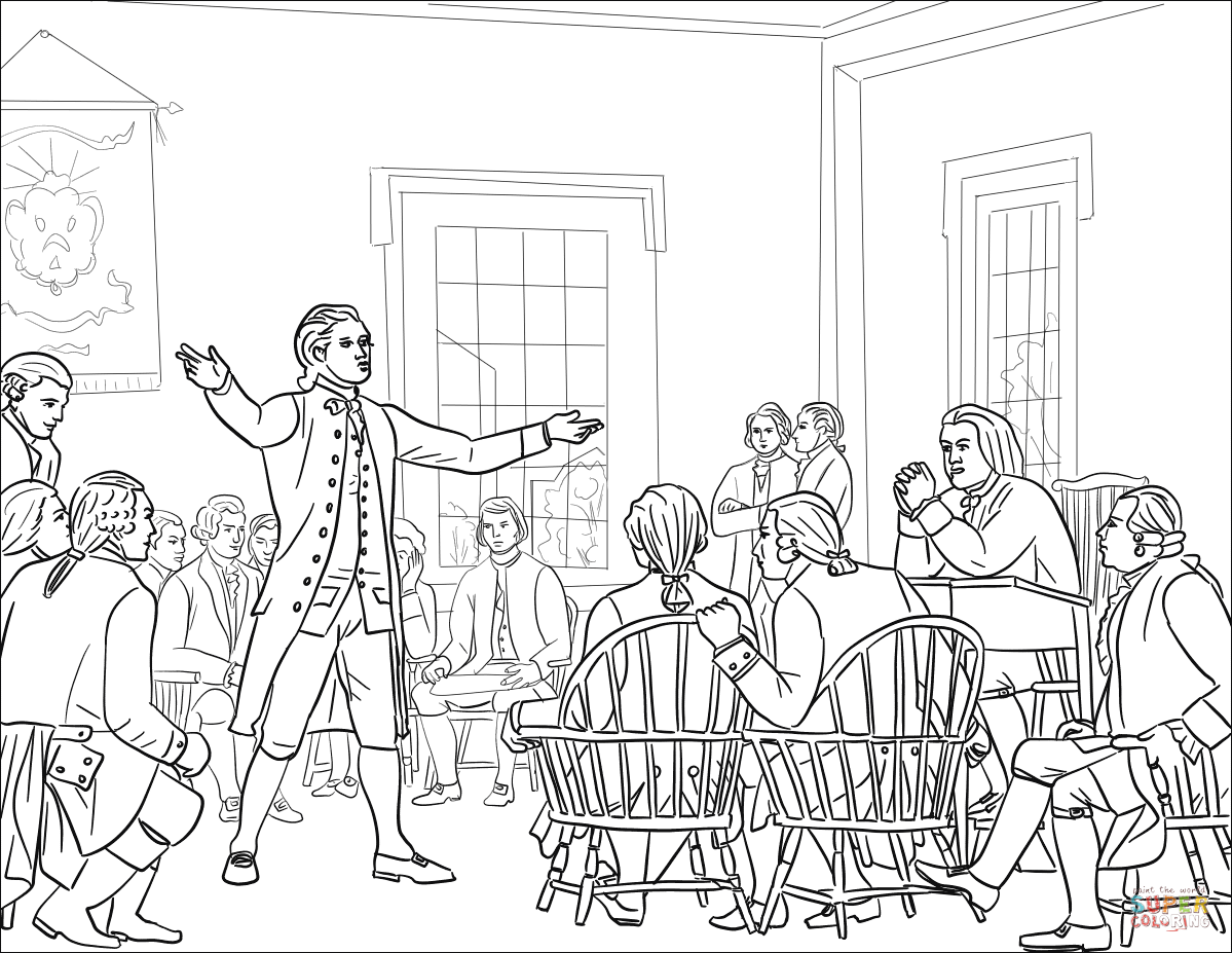 continental army coloring page the second continental congress coloring page free coloring page continental army