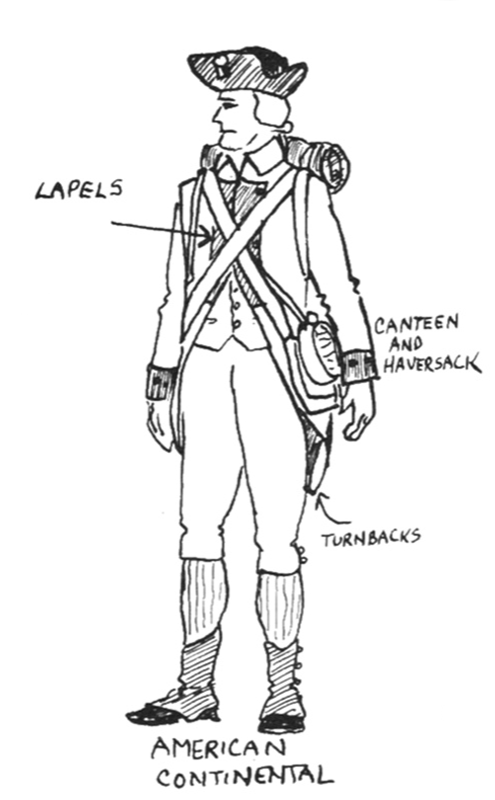 continental army coloring page uniform information american revolution table top talk coloring page continental army