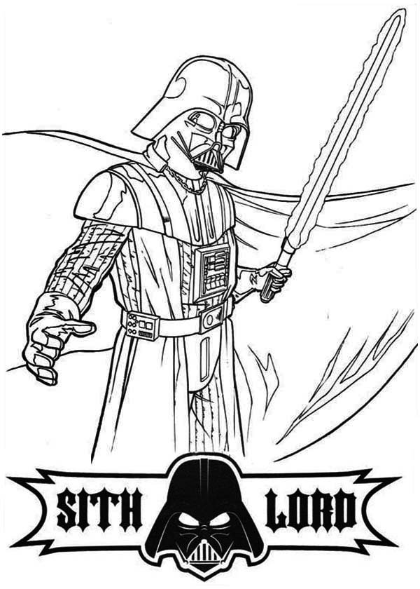 darth vader coloring pages laser sword of darth vader coloring pages  hellokidscom pages coloring darth vader