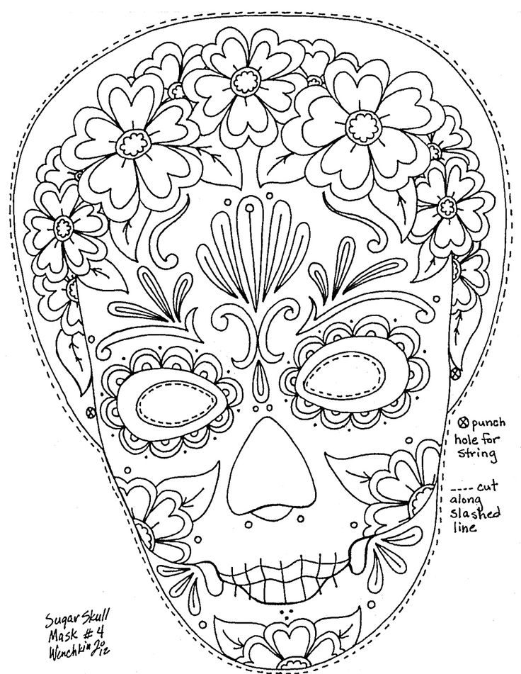 day of the dead template 40 best images about day of the dead masks on pinterest template the of day dead