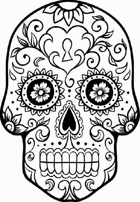 day of the dead template 7 x 9 floral sugar skull face stencil day of the dead day dead of the template