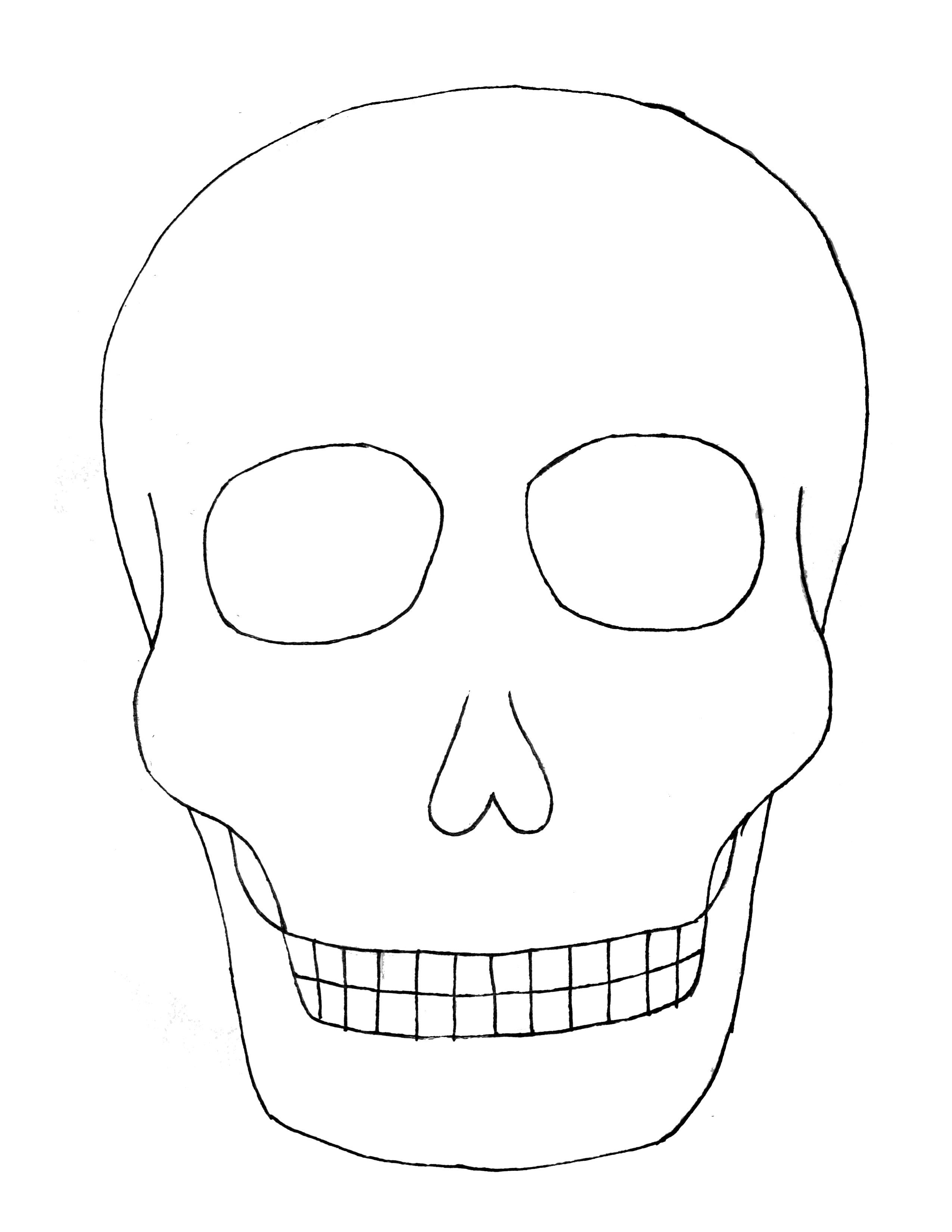 day of the dead template free printable day of the dead coloring pages best of dead day the template