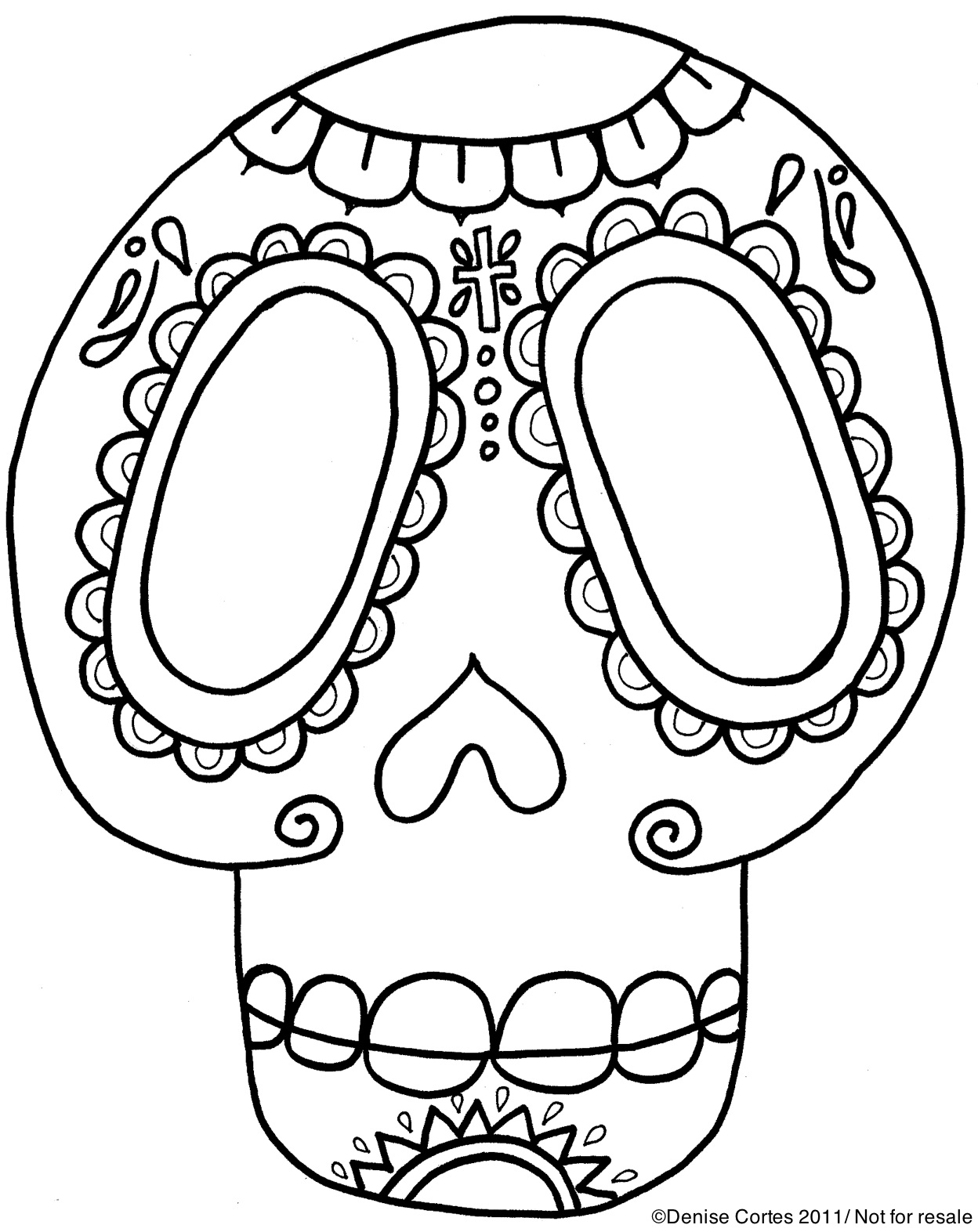 day of the dead template free printable day of the dead coloring pages best template day of dead the