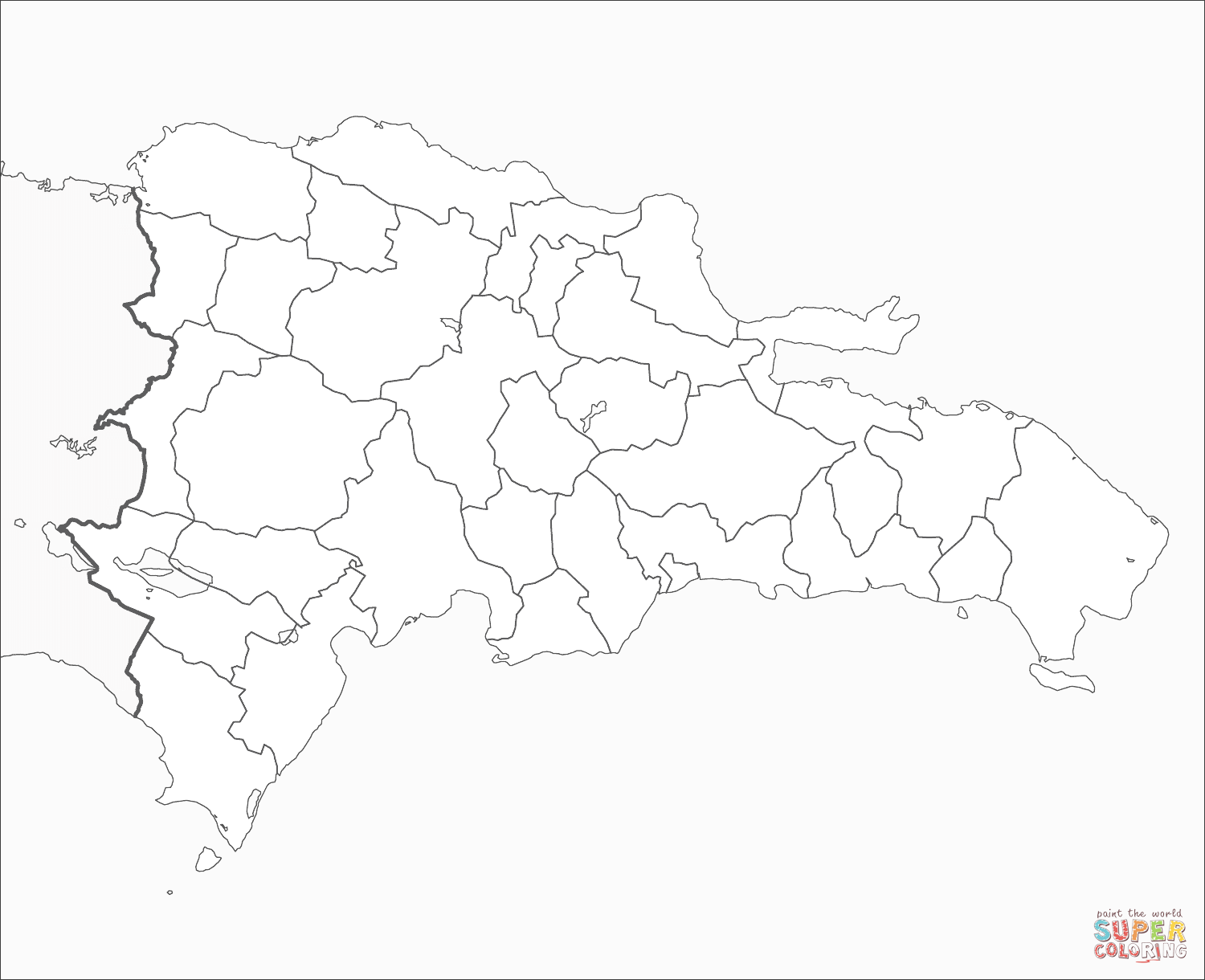 dominican republic map coloring page dominican republic flag coloring pages learny kids map dominican coloring page republic