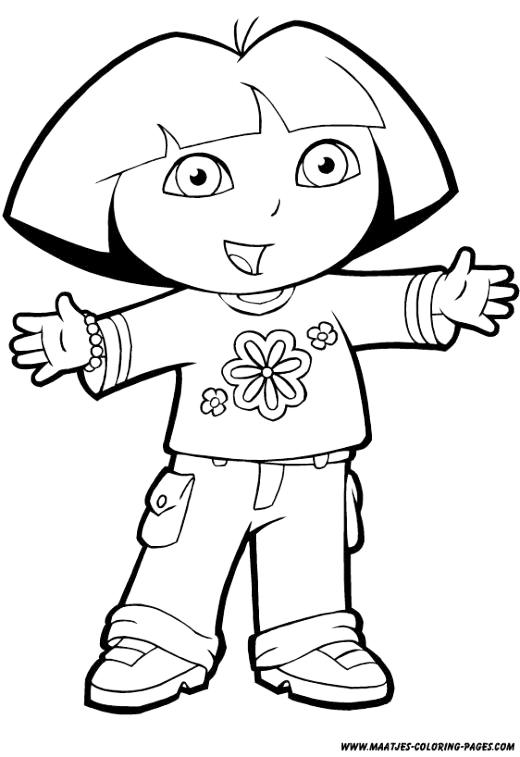 dora coloring pages free 25 wonderful dora the explorer coloring pages coloring pages dora free