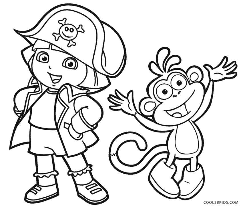 dora coloring pages free free printable dora the explorer coloring pages for kids dora coloring free pages
