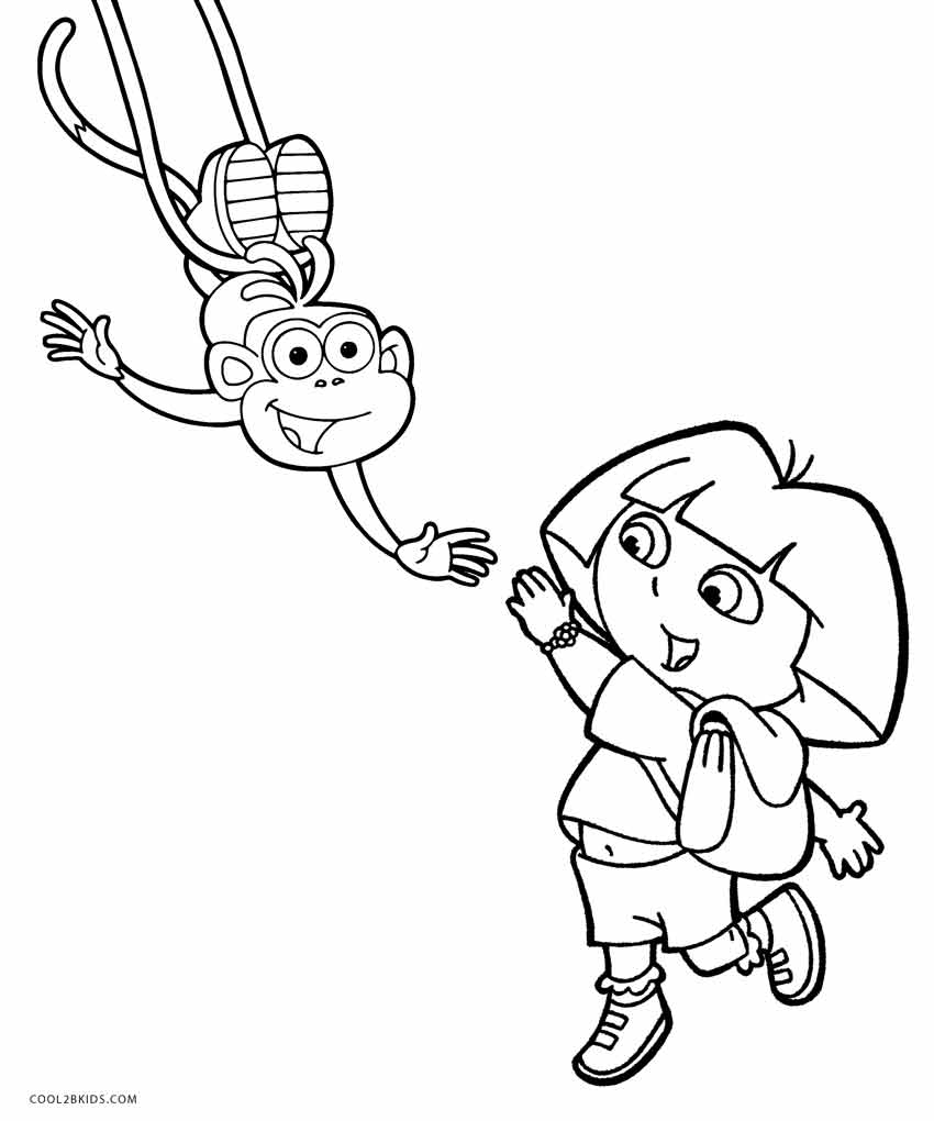dora coloring pages free printable dora coloring pages free printable coloring coloring dora free pages