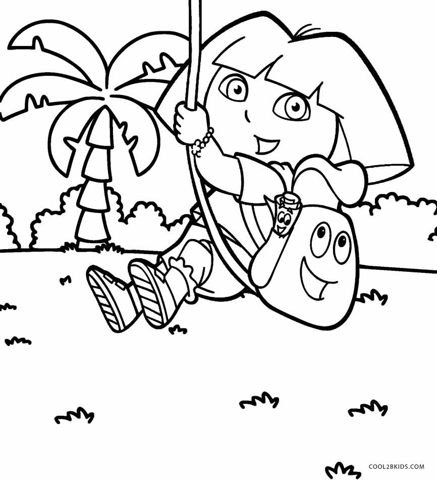 dora coloring pages free printable free printable dora coloring pages for kids cool2bkids free coloring printable dora pages