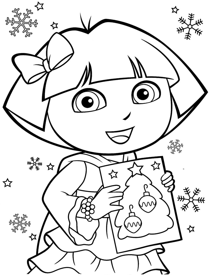dora coloring pages to print print download dora coloring pages to learn new things dora coloring pages to print