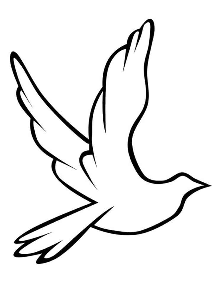 dove coloring pictures peace dove coloring page at getcoloringscom free coloring dove pictures