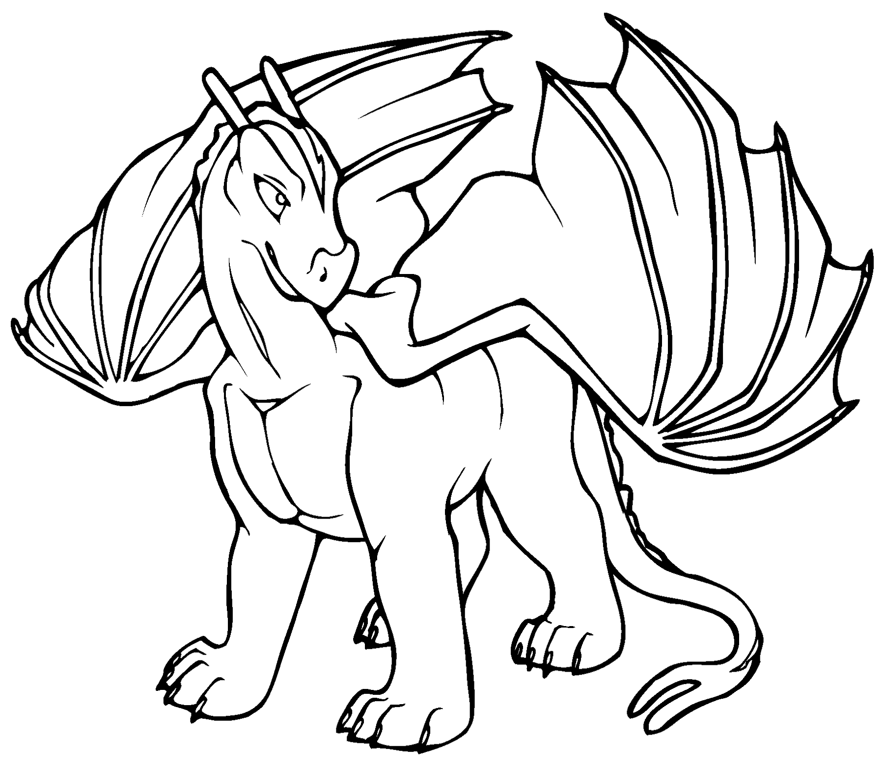 dragon coloring printable dragon coloring pages for kids cool2bkids coloring dragon